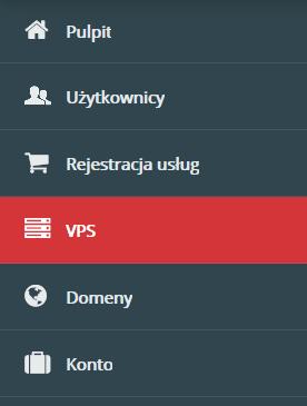 menu VPS