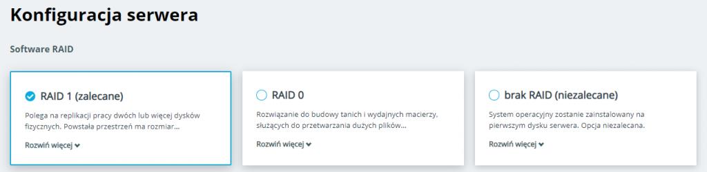 raid na serwerze